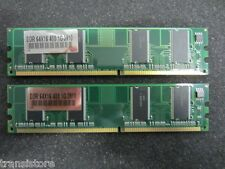 2 GB (2x 1GB) DDR1 PC400 DDR 64X16 400 1G 3910 + Gew.