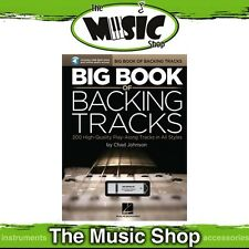 New The Big Book of Backing Tracks for Guitar with USB & Online Audio Access