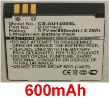 Batería 600mAh Para AUDIOVOX CDM-1400, PCS-1400, PPC-1400 tipo BTR1400 BTR-1400