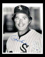 Ron Santo PSA DNA Coa Hand Signed 8x10 Photo Autograph