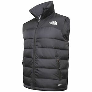 The North Face Body Warmer 700 Gilet Black New Other* Slim Fit Size M