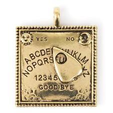METAL EMBELLISHMENT / CHARM Gold Ouija Board  - STEAMPUNK - Jewelry Cards