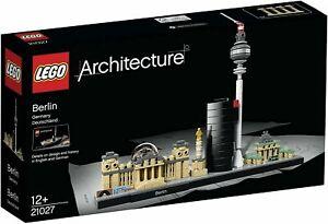 BOITE LEGO ARCHITECTURE  21027 ( BERLIN )  NEUF ENCORE SOUS SCELE +12 ANS