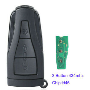 3 Buttons Smart Remote Key 434MHz for MG MG550 MG6 Car Key Fob with ID46 Chip
