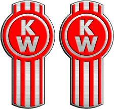 Kenworth Truck Decal Pair   Semi, Trailer, Wall, Window Vinyl Sticker