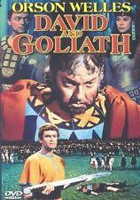 David & Goliath 0089218429896 With Orson Welles DVD Region 1