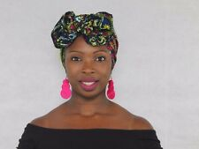 Mama Africa Hair and Beauty    African Print Head Wrap **LARGE**