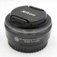 Nikon 1 Nikkor 10mm f2.8 AF Lens (Black) for Nikon 1 Mount