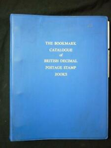 THE BOOKMARK CATALOGUE OF BRITISH DECIMAL POSTAGE STAMP BOOKS by D G MYALL -1973