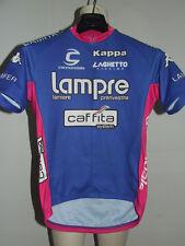 MAGLIA BICI CICLISMO SHIRT MAILLOT CYCLISM TEAM LAMPRE CAFFITA KAPPA tg. M