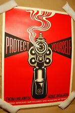 Shepard Fairey Home Invasion 1 Print Obey Giant Poster Signed Numbered 2014