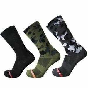 Professional Cycling Sport Breathable Knee Socks Mountain Bike Bicycles Socks