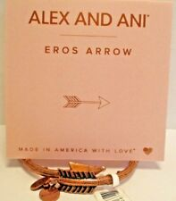 Alex and Ani EROS ARROW  WRAP BRACELET  Rose Gold Plated W/Tag & Card