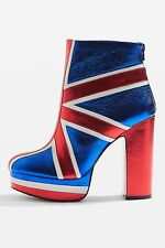 Union Jack Shellys London 6.5 Robi Boots Booties