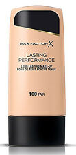"Max Factor Face Make-up Foundation Lasting Performance ""Choose Your Shade"""