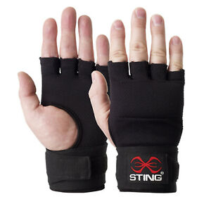 STING Quick Wraps Elasticised // Boxing Glove Wrist Knuckles Support Protective