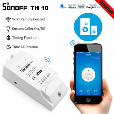Original Sonoff TH10 Temperature Humidity Monitoring WiFi APP Smart Switch Home
