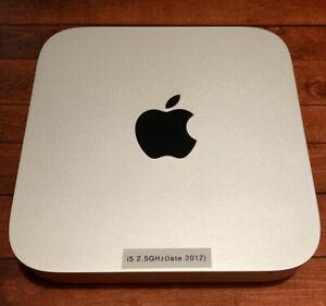 Apple MacMini (Late 2012) i5 2.5GHz, 16GB RAM, 240GB SSD & 500GB HDD, Catalina