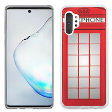 Slim TPU Case For Samsung Galaxy Note 10 PLUS - Phone Booth Red