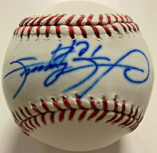 Chicago Cubs Sammy Sosa Signed Baseball - Auto Beckett BAS COA Imperfect