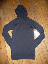 Lululemon Rest Less Hoodie Black sz 4 NWT -NO NY SHIP