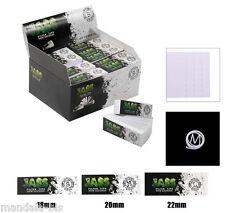 JASS TIPS Lot de 10 Carnets - Filtres Carton Largeur au Choix (Toncar)