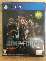 JUMP FORCE Sony Playstation 4 PS4 Video Games From Japan Tracking USED