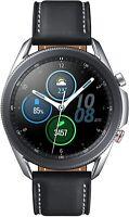 Samsung Galaxy Watch 3 45MM, GPS, Bluetooth LTE (Unlocked) - Mystic Silver US