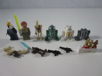 """LEGO - """"LOTAZO DE PERSONAJES FIGURAS Y PIEZAS VARIADAS STAR WARS"""" - LUJO!"""