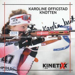 Karoline Knotten: Biathlon Weltcup NOR