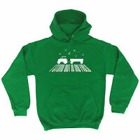 STAND OUT IN MY FIELD HOODIE hoody tractor farmer funny birthday gift present