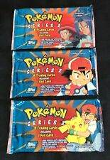 Pokemon Cards - 1X Sealed Topps Series 2 Booster Pack