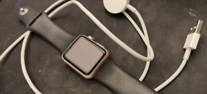 Apple Watch - Pink Body - Series 1 - 38mm - Used - NO RESERVE & FREE SHIPPING!