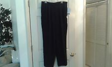 EMMA JAMES Womens Navy 3 Pocket Taper Leg Dress Pants Size 14      (T014K)