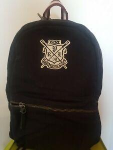 Ralph lauren Black Navy PP Backpack