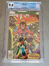 Uncanny X-Men #107 CGC 9.4 1977 1st full app. Starjammers 1st Gladiator