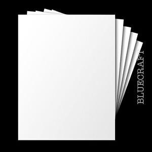 200 pack x A6 Heavyweight White Blank Postcards 250gsm - Plain No Printing