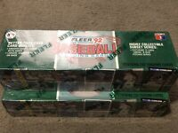 "1992 Fleer Baseball SEALED Factory Set, 732 Cards, BONUS SET ""SMOKE 'N HEAT"""
