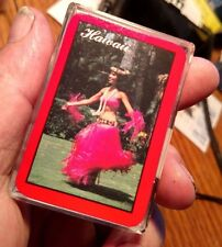 Mini Playing Cards Hula Dancer from Hawaii (made in Hong Kong) Vintage Unused
