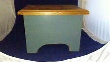 Vintage Wooden Storage Step Stool w/storage Bench VERY STURDY