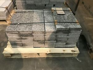 1 Pallet Silver Grey Granite 600mm Lengths. For Use As Paving Or Edging
