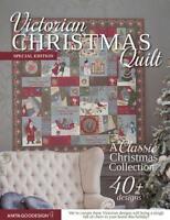 Victorian Christmas Quilt       Anita Goodesign   NEW