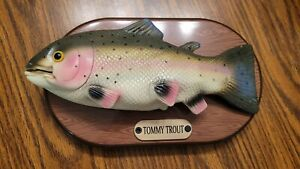 Tommy the Trout Singing Fish Joy to the World Tested
