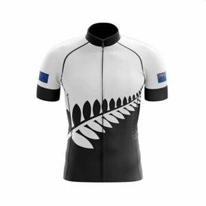 NEW ZEALAND (V4) SHORT SLEEVE CYCLING JERSEY
