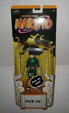Mattel 2002 Naruto Shonen Jump's ROCK LEE with SNAP ON GEAR Figure