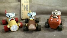 Vintage 1995 ERTL Blinky Bill Koala Car Lot of 3