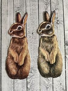 Stephanie Weightman Two Red Robins Benji Bunny From Forgotten Corner Die Cuts