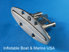 "Boat Pop Up / Pull Up Cleat - 6""  316 Marine Stainless Steel"