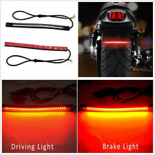 Flexible 48LED SMD Motorcycles Light Strip Rear Tail Brake Stop Turn Signal Lamp