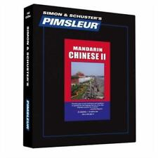 Pimsleur Learn CHINESE MANDARIN Language Level 2 CDs